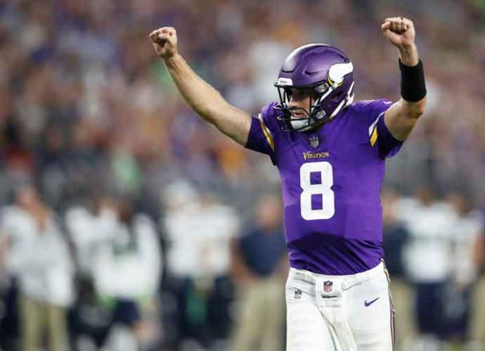 QB Kirk Cousins Agrees To 2-Year Extension With Vikings In $93 Million Deal