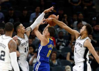 Watch: Klay Thompson Lifts Warriors To 112-92 Win Vs. Spurs