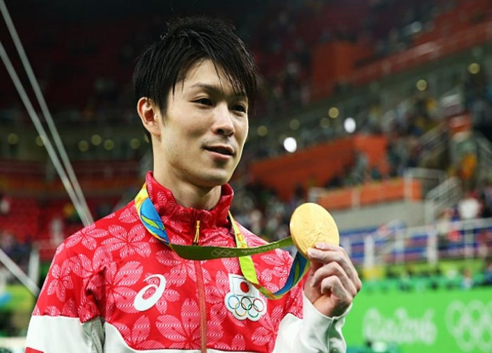 Japan's Kohei Uchimura, Reigning Gold Medalist, Wins Again In Exciting All-Around Gymnastics Final