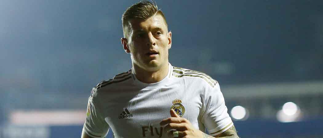 Real Madrid's Toni Kroos Slams Arsenal's Pierre-Emerick Aubameyang For Goal Celebrations