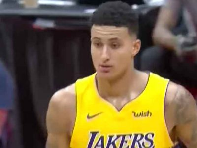Lakers' Kyle Kuzma Throws TD Pass In Charity Flag Football Game Vs NFL Stars [VIDEO]