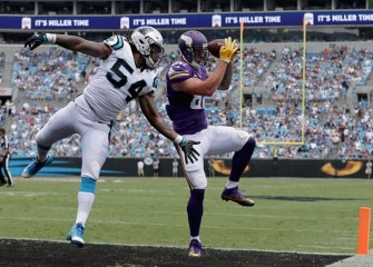 Panthers Fall To Vikings 22-10 In Charlotte Amid Protesters, Police In Riot Gear