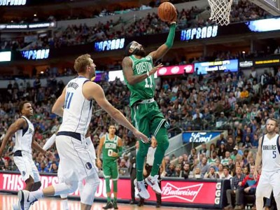 Kyrie Irving Scores 47 Points, Celtics Beat Mavericks For 16th Straight Win [VIDEO]