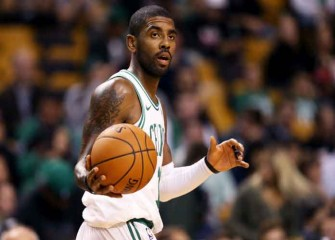 Kyrie Irving Dunks In First Preseason Game With Celtics [VIDEO]