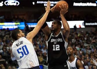 Watch: LaMarcus Aldridge, Patty Mills Lift Spurs To Win Vs. Mavericks
