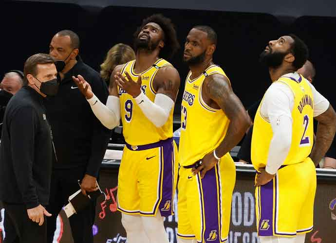 Lakers On Brink Of Elimination Following Game 5 Beatdown From Suns