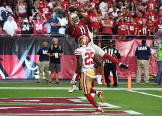 Cardinals Beat 49ers 18-15 In OT With Larry Fitzgerald TD Catch [VIDEO]