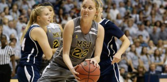 Lauren Hill Named To First Team Of Heartland Collegiate Athletic Conference