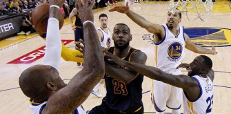 2015 NBA Finals: Cavaliers Eke Out Scrappy Game 2 Victory