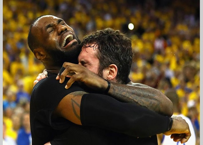 Cavaliers' Kevin Love Says All He Wanted Was 'A Little Love' From LeBron James