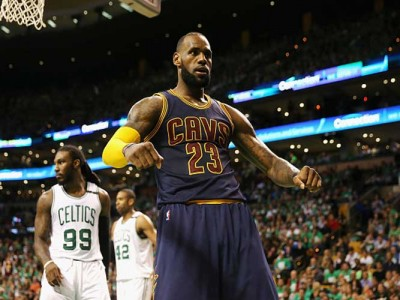 Watch: LeBron James Passes Michael Jordan On NBA All-Time Postseason Scoring List With 5,995 Points