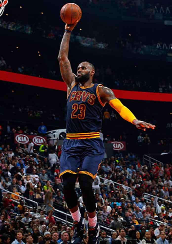 No. 2: LeBron James (86.2 million)