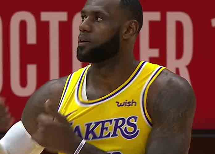 LeBron Leads Los Angeles Lakers To Win Over Rival Golden State Warriors