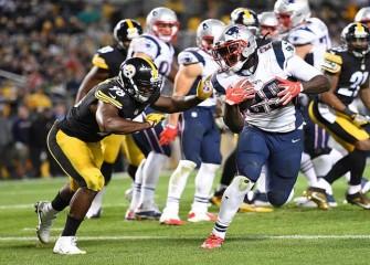 LeGarrette Blount, Patriots Beat Steelers 27-16