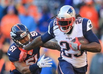 LeGarrette Blount Sets Patriots Single-Season Record For Rushing TDs In 16-3 Win Over Broncos