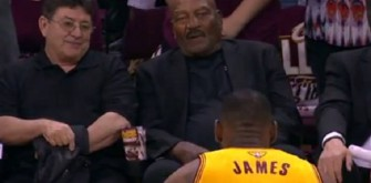 Cleveland Browns' Jim Brown Ecstatic Over LeBron James' Respect