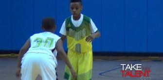 Lebron James Jr. Shows Off Skills at Tournament