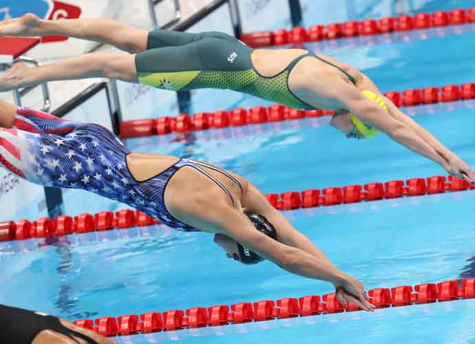 Katie Ledecky Wins Gold In Inaugural 1500-Meter Freestyle Race