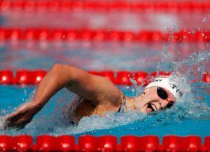 VIDEO: Katie Ledecky Explains How She's Training For The Tokyo Olympics