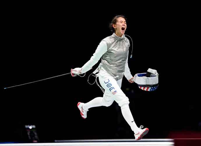 Lee Kiefer Secures Gold At Tokyo Olympics