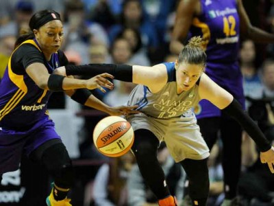 Minnesota Lynx Beat LA Sparks 85-76 For Fourth WNBA Championship
