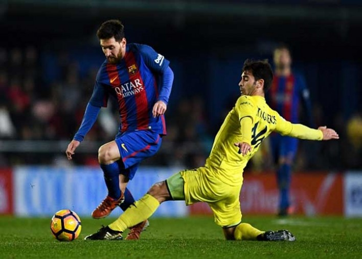 Lionel Messi Saves Barcelona With Late Goal In 1-1 Tie Vs Villarreal
