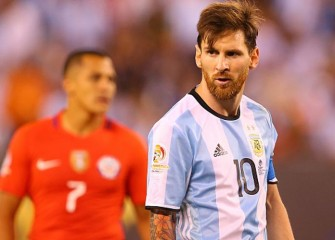 Lionel Messi Scores Goal To Lead Argentina To 1-0 Win Over Uruguay In 2018 World Cup Qualifier