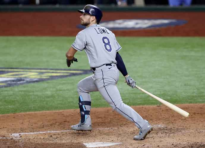 WATCH: Brandon Lowe Hits 2 HR's As The Rays Even Up The World Series 1-1