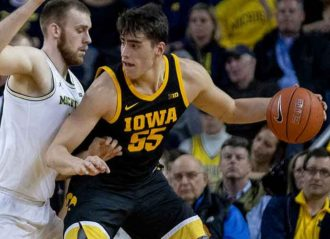 Iowa Center Luka Garza Announces His Return To School