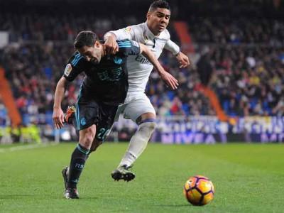 Real Madrid Beat Real Sociedad 3-0 To Keep La Liga Top Spot