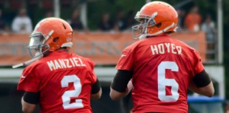 Johnny Manziel Named Starting QB for Cleveland Browns
