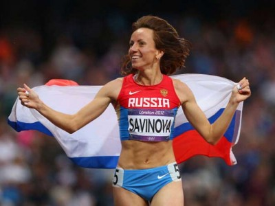 Russian Runner Mariya Savinova, London 2012 Gold Medallist, Banned And Stripped Of Title Over Doping