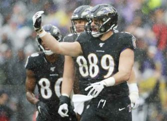 Ravens Tight End Mark Andrews Mocks Nick Bosa With 'Planting The Flag' Touchdown Celebration