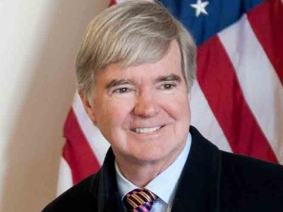 NCAA President Mark Emmert Meets With Lawmakers to Discuss Rules And Regulations On College Athletes' Compensation