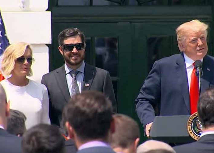 NASCAR Cup Series Champion Martin Truex Jr. Honored By Trump At White House [VIDEO]
