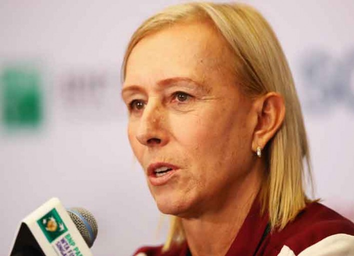 "Martina Navratilova Says Margaret Court Is ""Racist And A Homophobe"""