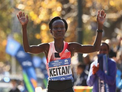 Mary Keitany Of Kenya Wins Third Straight New York Marathon