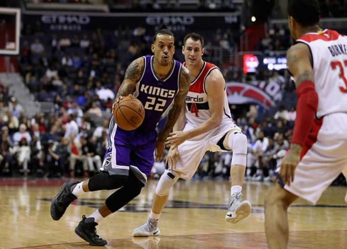 Kings' Matt Barnes Accused Of Choking Woman At NYC Nightclub