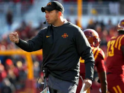 Football Coach Matt Campbell Signs Six-Year, $22.5M Extension With Iowa State
