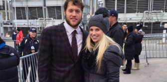 UPDATE: Matthew Stafford's Fiancé Defends Suh And Detroit Lions