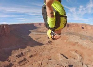 VIDEO: Professional Ski BASE Jumper Matthias Giraud On His Thoughts While Airborne