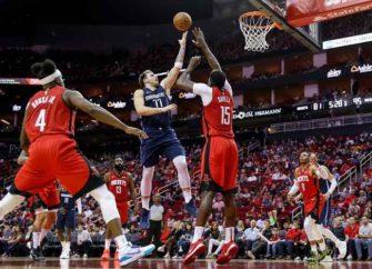 Luka Doncic Leads Mavericks Past Rockets 137-123