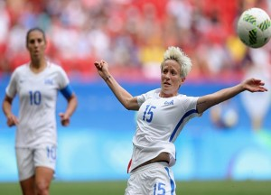 VIDEO: Megan Rapinoe Remembers Early Exit From 2016 Rio Olympics