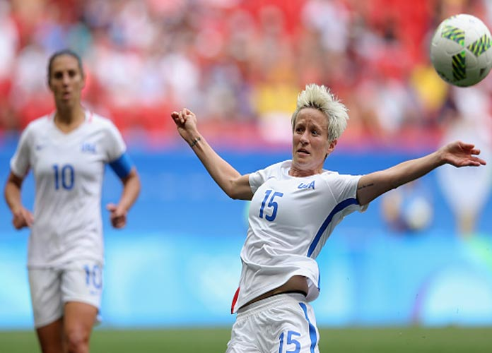 VIDEO: Megan Rapinoe & USWNT Discuss Pre-Game Rituals