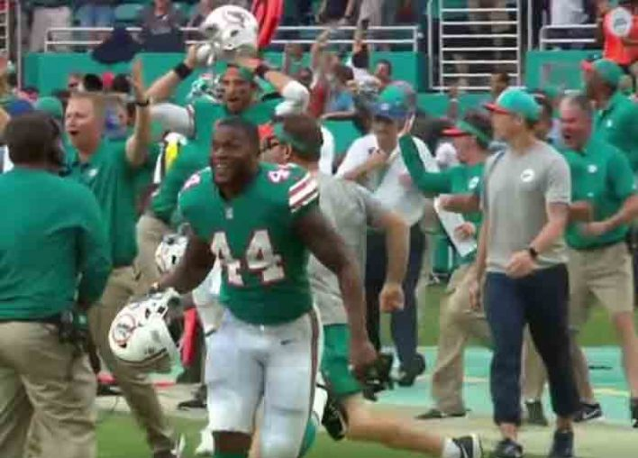 The 'Miracle In Miami': Dolphins Now Securely In The Mix After Wild Finish Vs. Patriots [VIDEO]