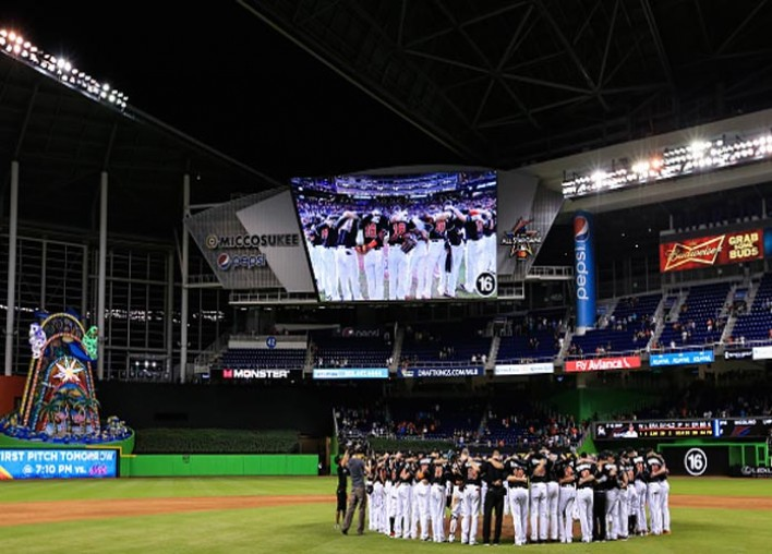 Marlins Honor Late RHP Jose Fernandez Before And After 7-3 Home Win Over Mets