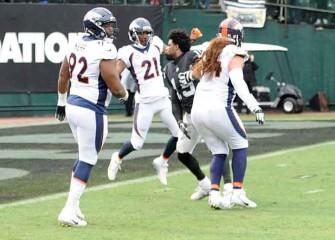 Watch: Michael Crabtree, Aqib Talib Get In Fight In Broncos Vs. Raiders, Twitter Reacts