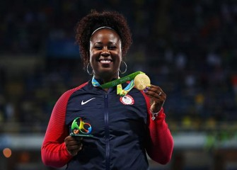 Michelle Carter, First US Woman To Win Gold In Shot Put, Stuns In Rio