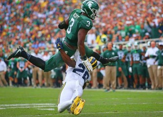 No. 2 Michigan Wolverines Beat Michigan State Spartans 32-23 In Big Ten Mismatch
