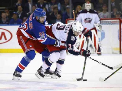Rangers Top Blue Jackets 5-3 With Power-Play Goals, Stretch Win Streak To Four